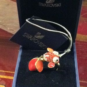 FOR JAN ONLY PLEASE   Swarovski Lychee Fish Ring